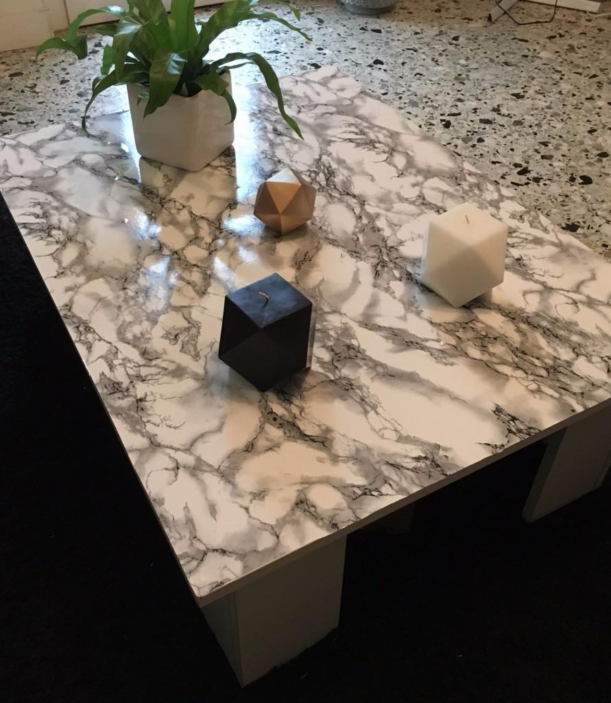 DIY faux marbre