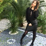 Black Laces up – SHEIN !
