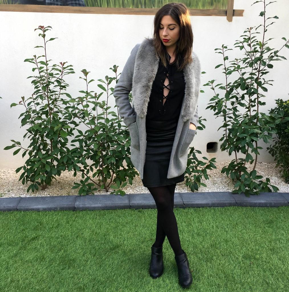 Black Laces Up