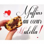Muffins au cœur nutella !