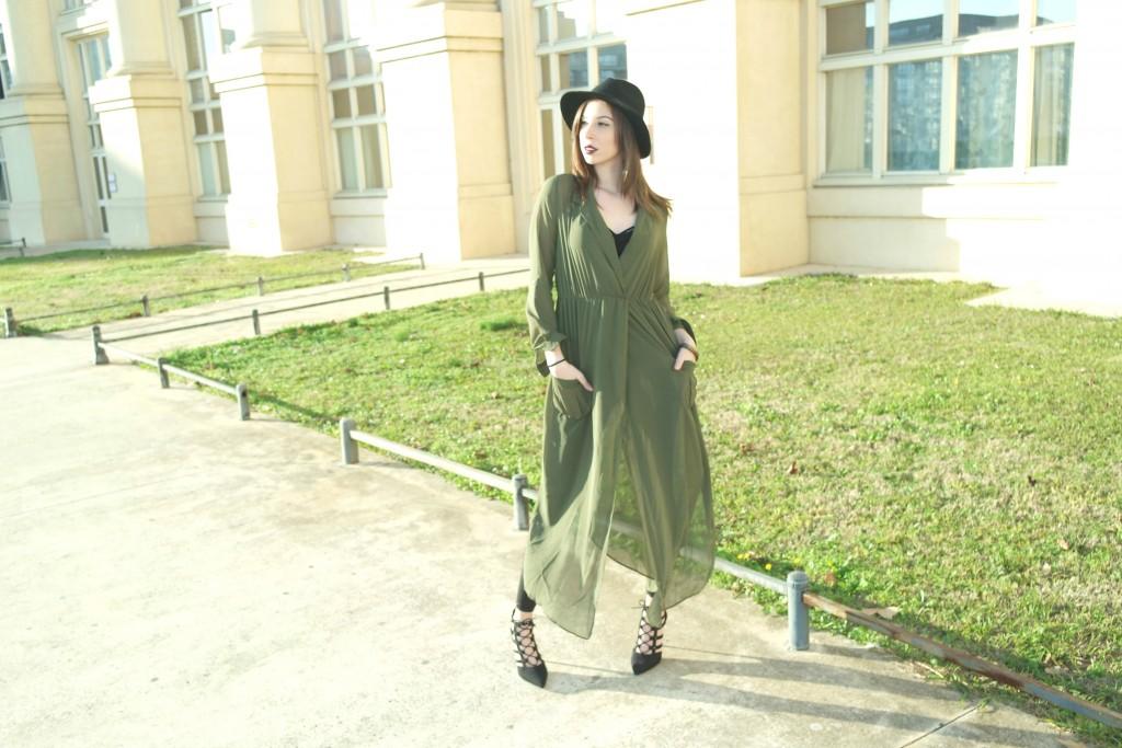 robe mousseline