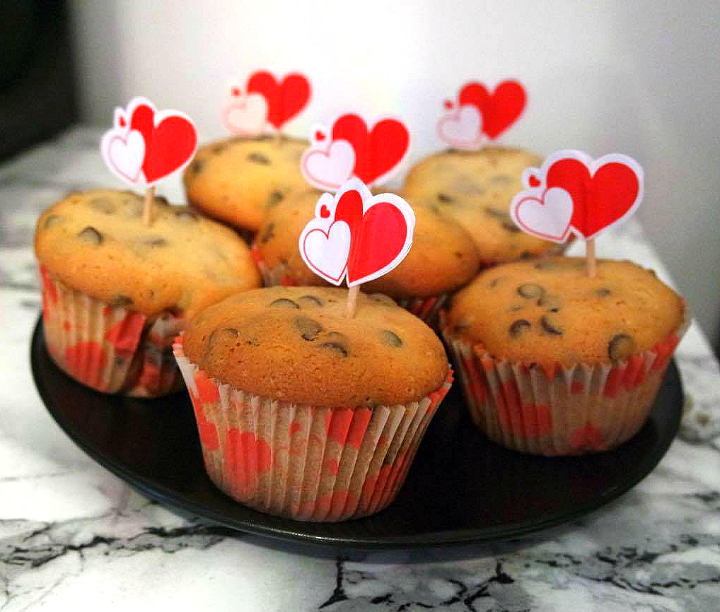 muffins au cœur Nutella
